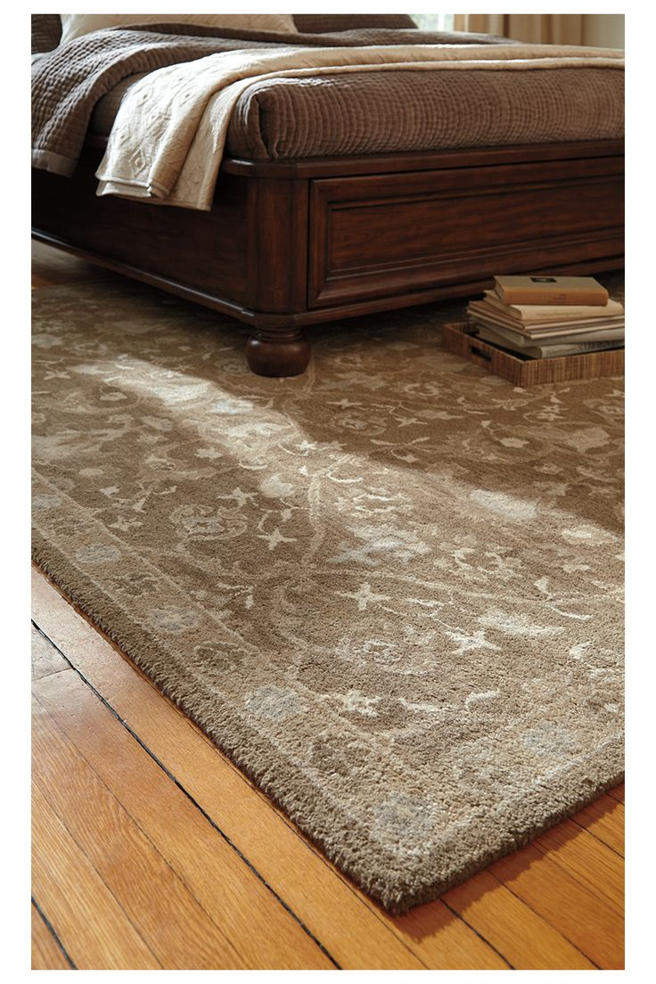 Magnificently Muted Earth Tones And A Flowing Brocade Design Exude A Mood Of Faded Elegance
