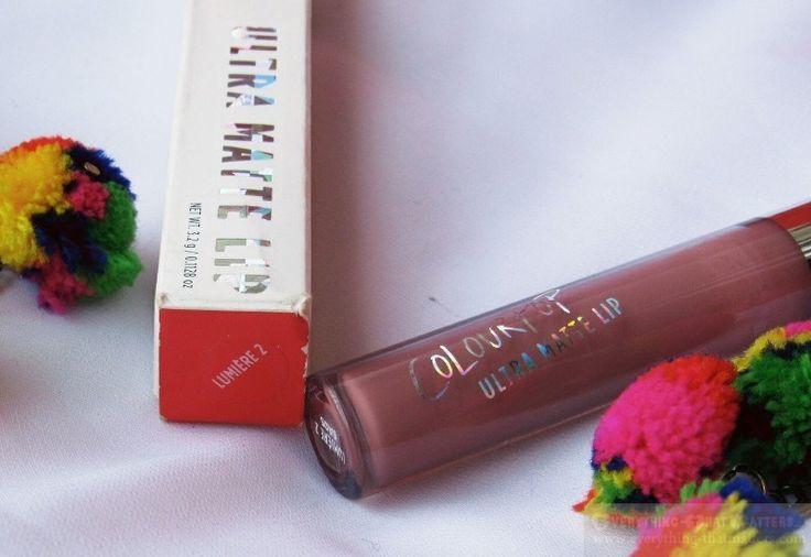 Colorpop Ultra Matte Lip Lumiere 2