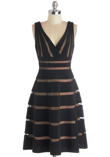 Correspondents' Dinner Date Dress, #ModCloth