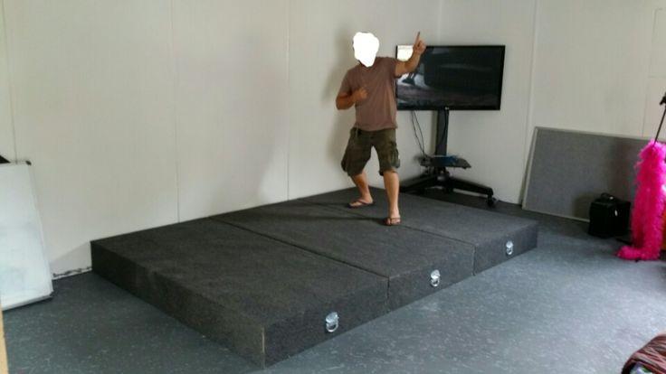 Modular stage - Luke de Hoog