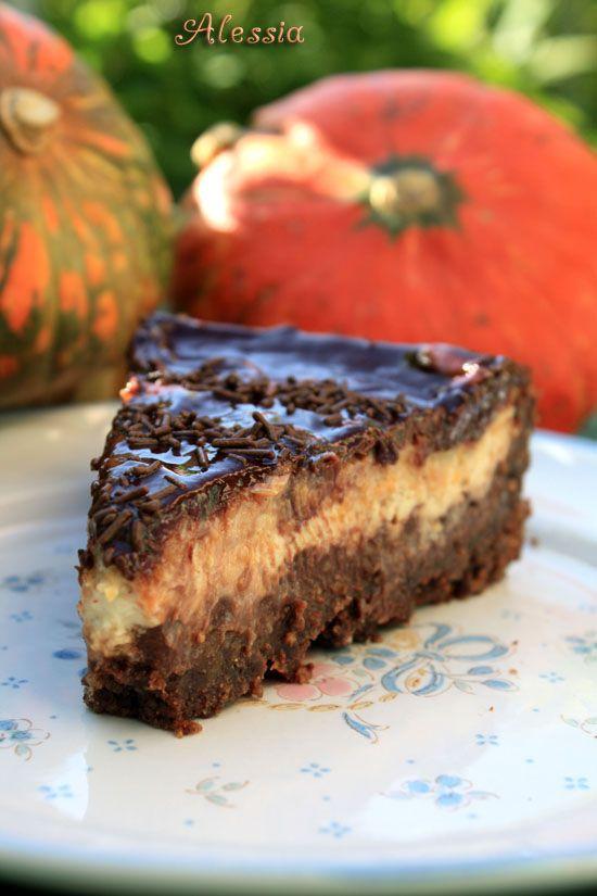 Cheesecake alla zucca |
