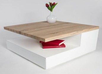 17 best ideas about table basse bois blanc on pinterest for Table basse bois blanc ceruse