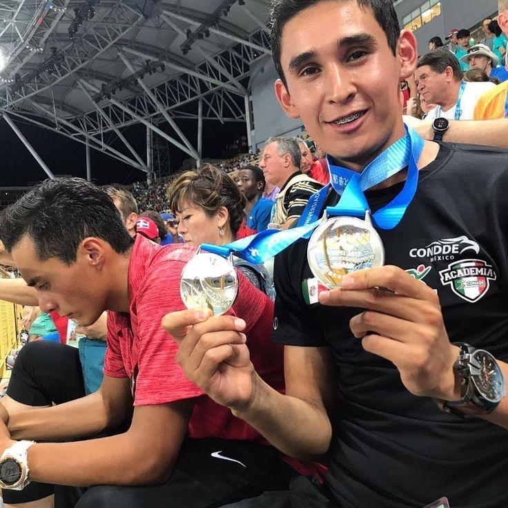 El marchista de la UACH Julio Salazar le da dos medallas de plata a México en la Universiada Mundial