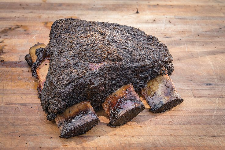 Aaron Franklin's Beef Ribs.. Franklin bbq in austin tx got top 5 BBQ in the country, top in texas.