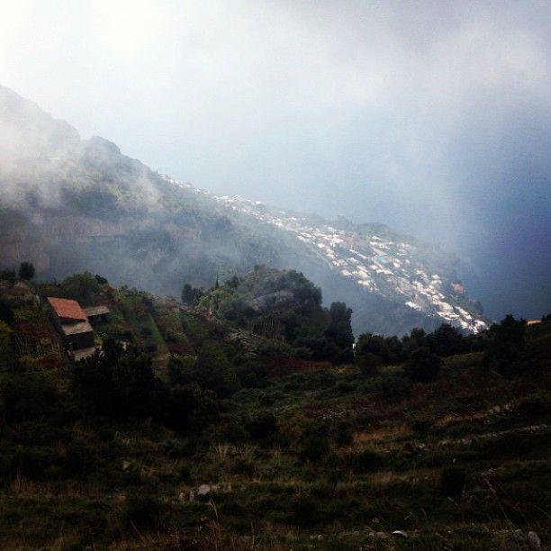 #Amalfi vista da quassù #landscape [Segui i nostri spostamenti su #Instagram: http://instagram.com/allyoucanitaly]