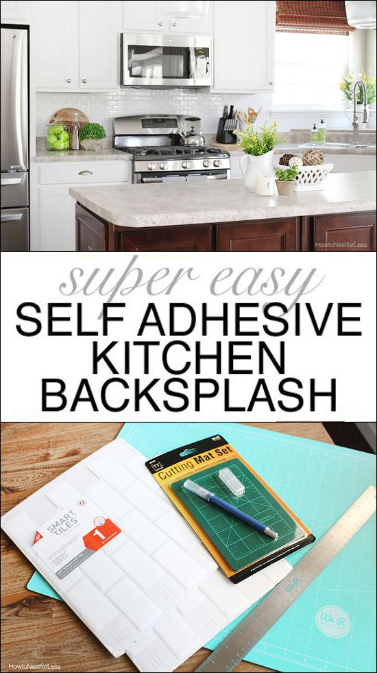 Best 25+ Adhesive backsplash ideas on Pinterest | Adhesive ...