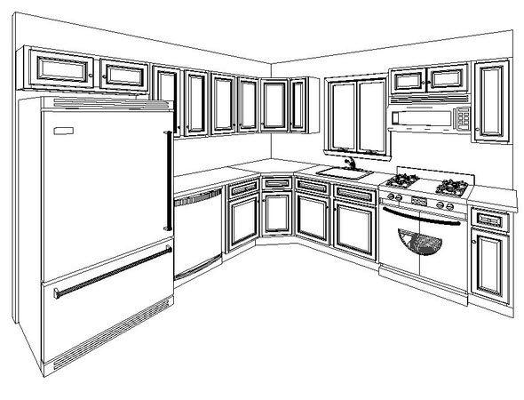 Kitchen Layouts For 10x10 Kitchen 10 X 10 Kitchencabinet