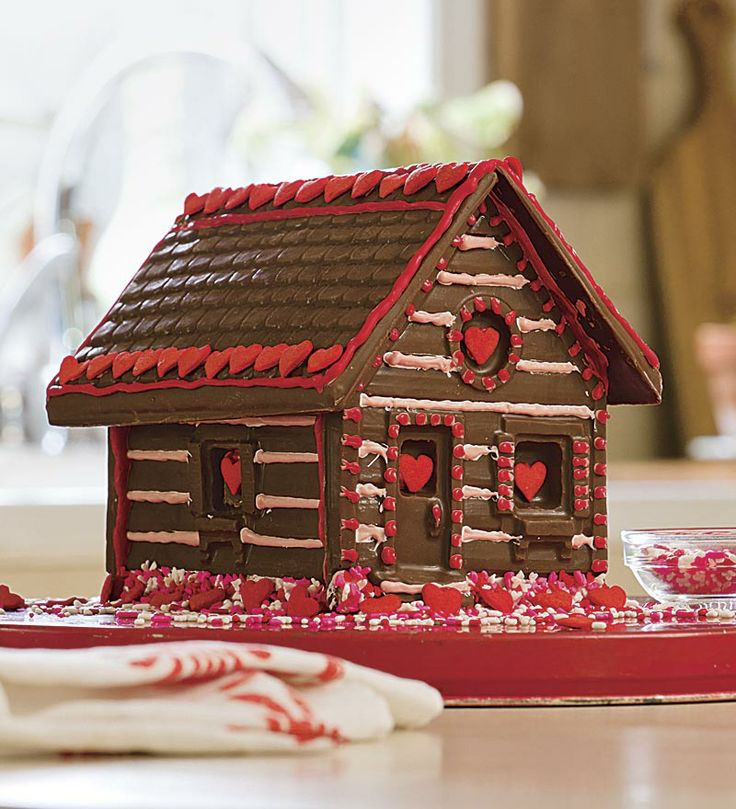 Cupids Chocolate House From Hearthsong Holiday