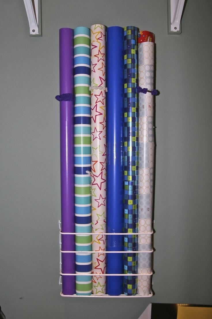 Organize Wrapping Paper | Brady Lou: Project Guru