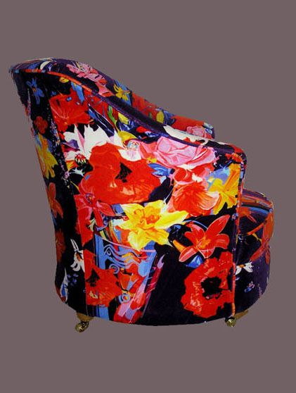 Poppy tub chair by Michelle Scragg