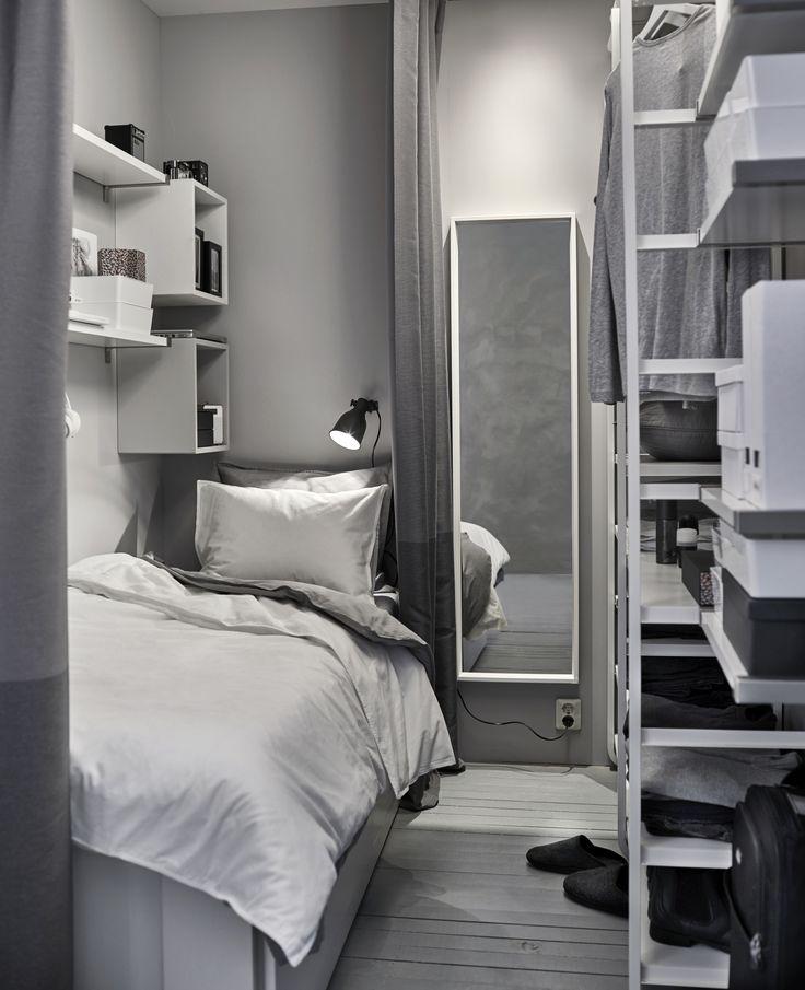 25 beste ideen over Ikea slaapkamer wit alleen op