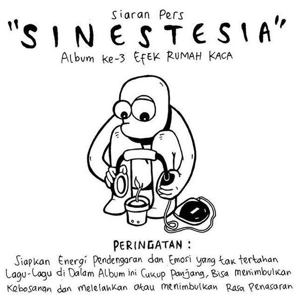 """""""Siaran pers"""" album ke-3 @efekrumahkaca selamat bang !! https://t.co/NbJ6SOA93Y"""