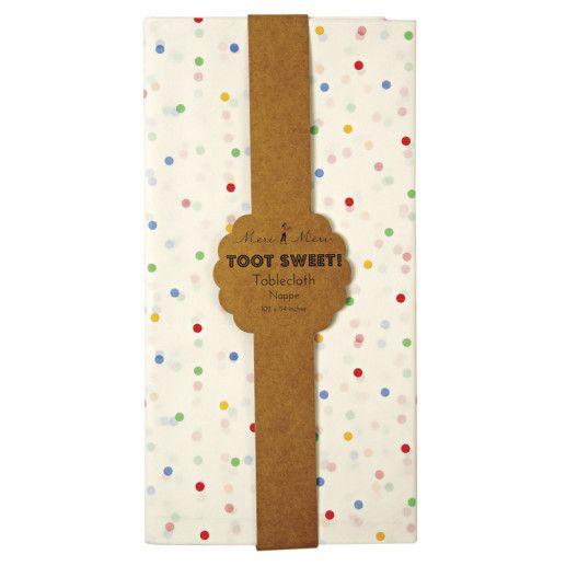 Toot Sweet Party Papiertischdecke