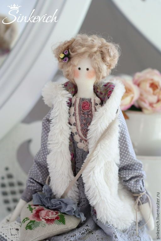 Купить Белла - тильда, интерьерная кукла, для уюта, кукла ручной работы, кукла в подарок