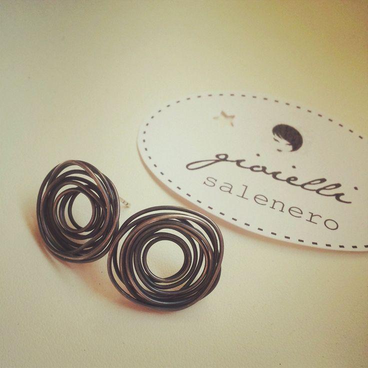 small silver nests handmade jewellery by salenero.com