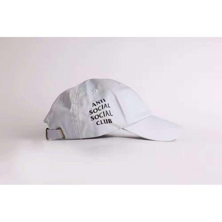 Anti Social Social Club Dad Cap (White) http://hatstash.com/snapback-hats/anti-social-social-club-dad-cap-white #hat #streetwear #onlineshop #hatstash #antisocialsocialclub #ASSC