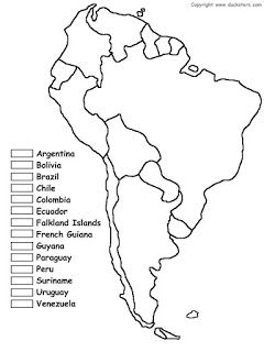 Best Geography Images On Pinterest Geography Homeschool And Maps - Africa political map without names