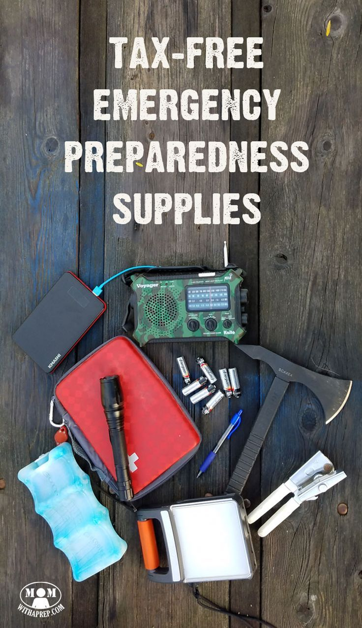 Take advantage of tax free weekends to save money on your emergency preparedness items. Want to know if your state participates - here's a list for you! via @momwithaprep
