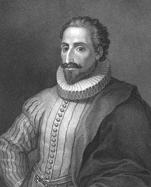 Nació el 29 de septiembre de 1547 Alcalá de Henares, España y murió el 22 de abril de 1616 (68 años)