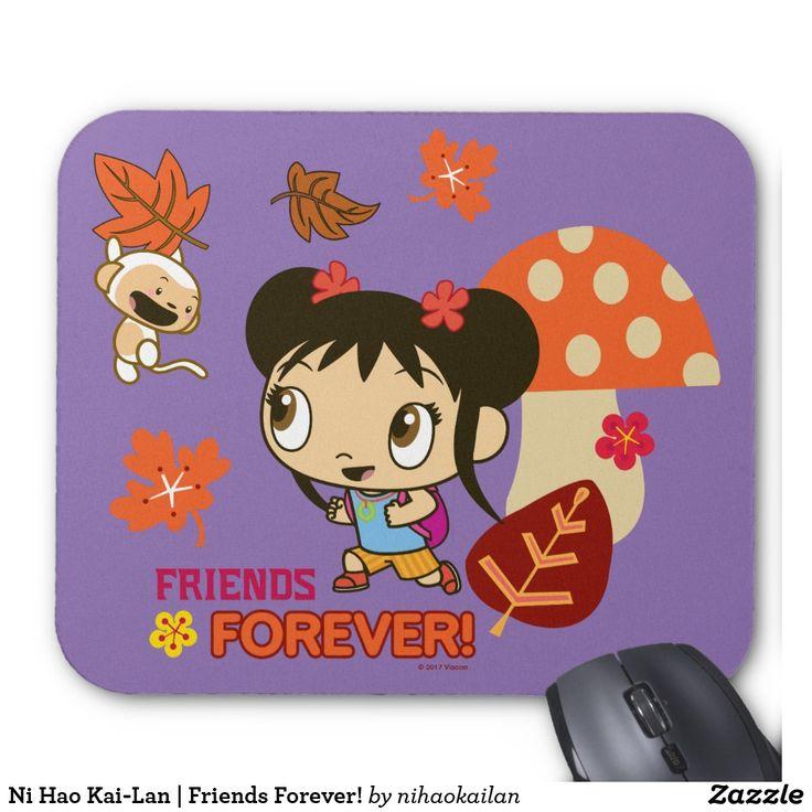 Ni Hao Kai-Lan | Friends Forever! Producto disponible en tienda Zazzle. Tecnología. Product available in Zazzle store. Technology. Regalos, Gifts. #Mousepads