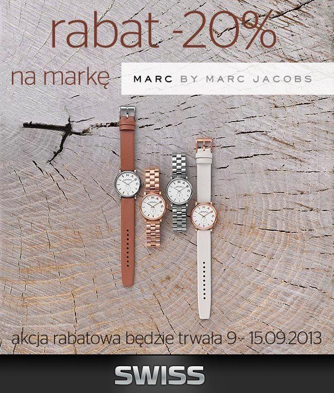 Zegarki marki Marc by Marc Jacobs z wyjątkowym rabatem :)