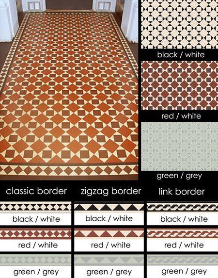 Edwardian Encaustic Flooring Tiles (101B)