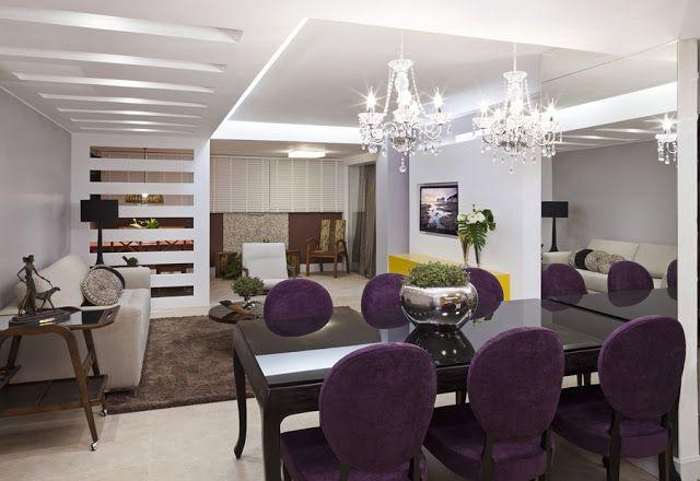 Sala De Jantar Viero Lara ~ Decoração de sala de jantar  20 salas de jantar modernas e atuais