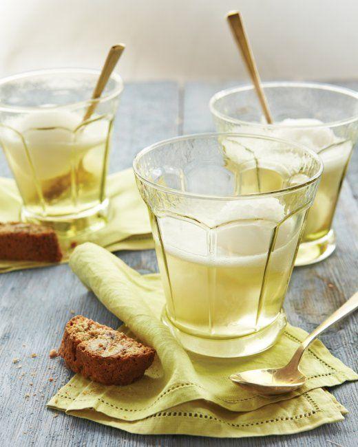 Lemon Sorbet with Prosecco Recipe