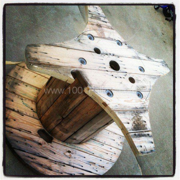 best 25 large wooden spools ideas on pinterest wood. Black Bedroom Furniture Sets. Home Design Ideas