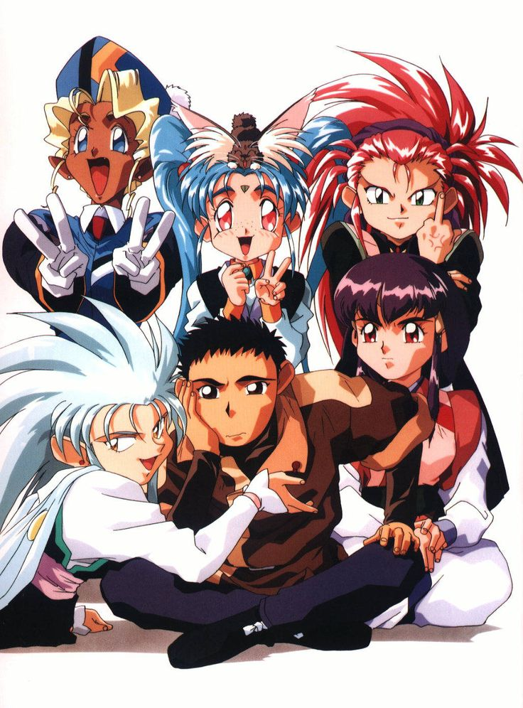 Tenchi Muyo! I used to love this show back in my jr high days lol