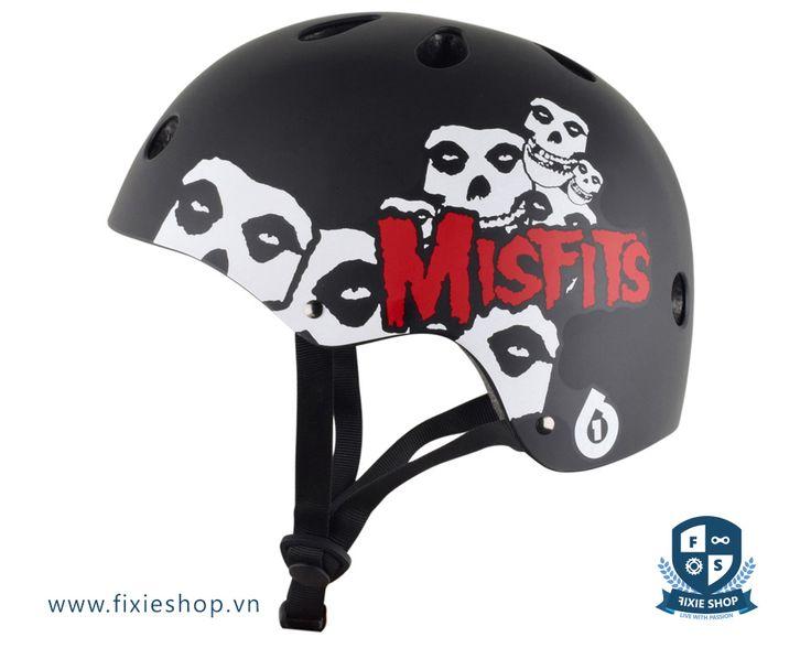 SixSixOne Dirt Lid Misfits Helmet