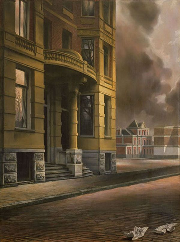 My favorite painting - Het Gele Huis - Carel Willink