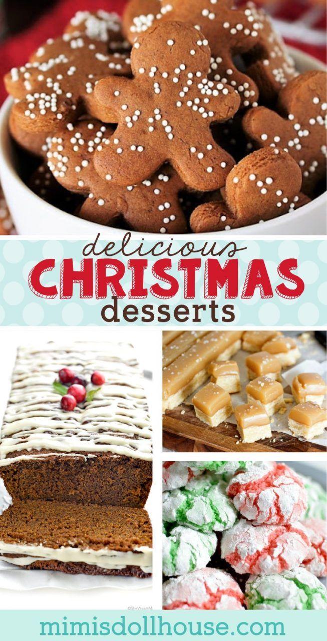 Traditional Christmas Desserts.Christmas Desserts Festive Traditional Christmas Treats