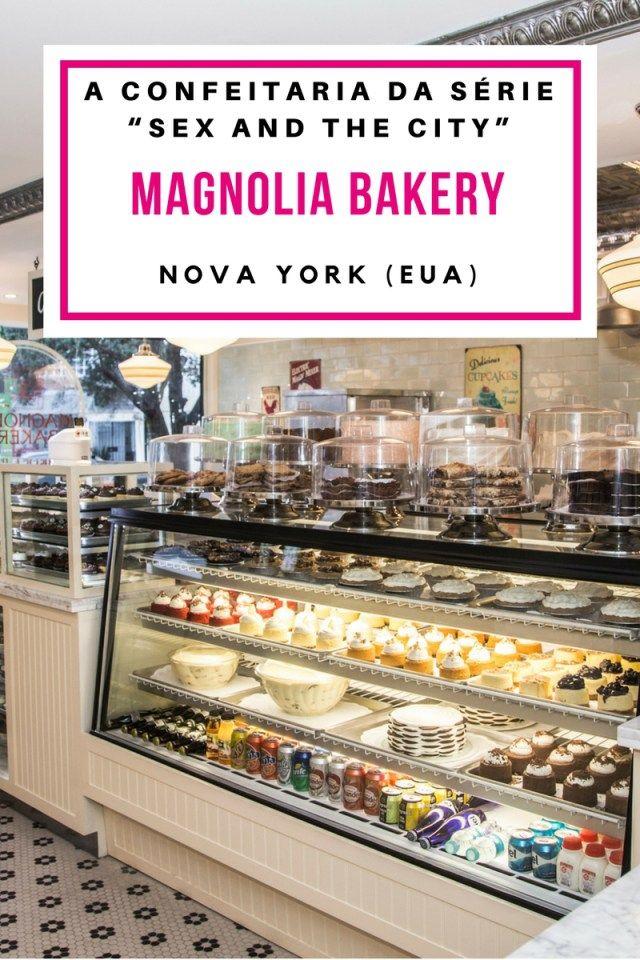 """Magnolia Bakery em Nova York: Conheça a confeitaria da série """"Sex and the City""""! Viagem em Familia, Dica de viagem,  travel, museus, nova york, estados unidos, eua, usa, ny, new york, nova iorque, doceria, sex and city, Gastronomia, Comida,  Culinária, Resenha, experiencia de viagem, Viagens gastronômicas, cupcake, pudim de banana, brownie, #travel #wanderlust #viagem #ny #newyork #eua #usa #viajar"""