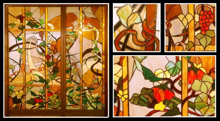 #glassatelier , #witraże , #stainedglass , #tiffany