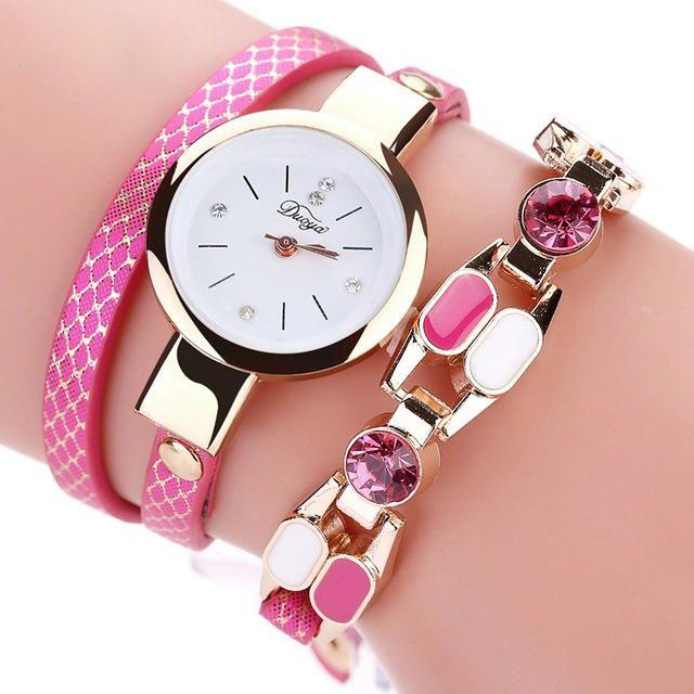 DUOYA D167 Fashionable Women Bracelet Watch at Banggood