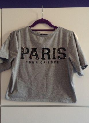 Kup mój przedmiot na #vintedpl http://www.vinted.pl/damska-odziez/topy-koszulki-i-t-shirty-inne/9623006-koszulka-krociotka-paris-mohito-letnia