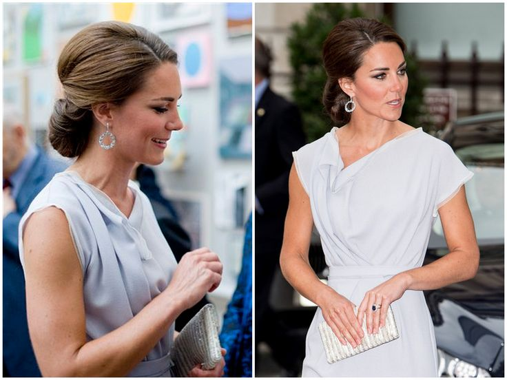 Kate Middleton's Low Chignon #StyleNoted