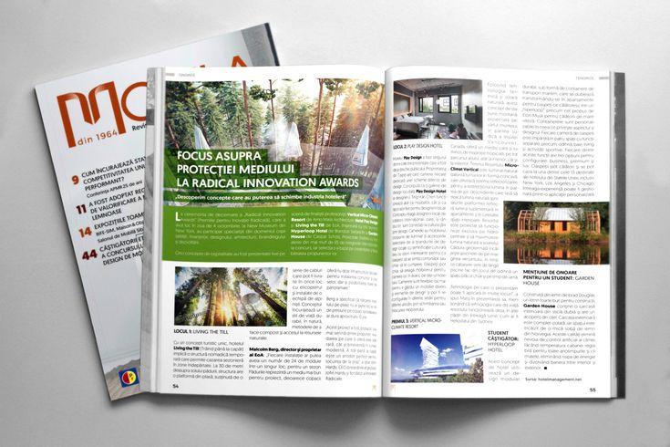 Design grafic și tehnoredactare revista Mobila 5, 2017