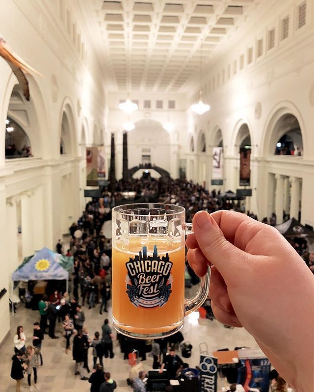Fun quick weekend in #Chicago for this cool #beer event! #fieldmuseum #chicagobeerfest