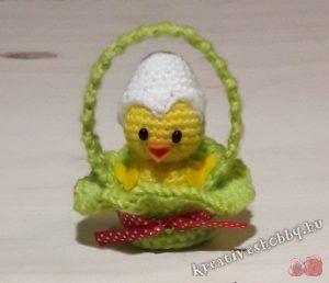Horgolt (amigurumi) kiscsibe - Kreatív+Hobby