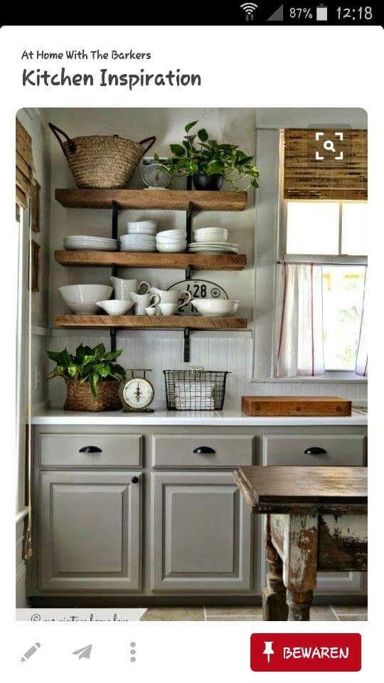 Wagonplanken zijn een leuk idee voor in de keuken!
