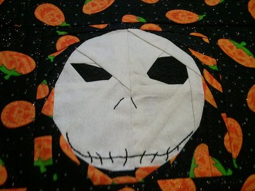 The Nightmare Before Christmas: Jack, free paper pieced block designed ...