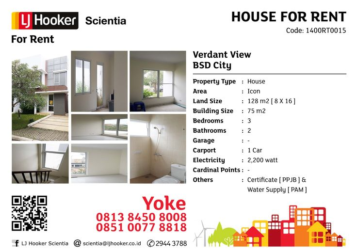 FOR RENT: Verdant View @ Icon, BSD City