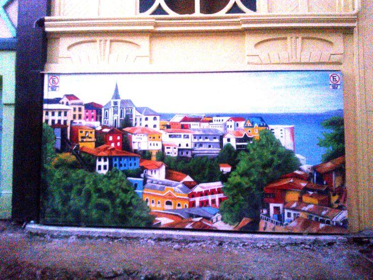 Mural. Cerro Concepción.