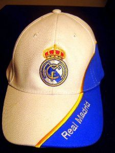 Official Licensed GENUINE FC Real Madrid Embroidered Hat Cap - Licensed Real Madrid Merchandise by FC Real Madrid. $19.99. International customers from Europe,Canada, Australia, NZ, Japan & other far eastern countries please order from our Amazon UK Listing HERE - http://www.amazon.co.uk/gp/product/B0080XOX9S. FC Real Madrid Embroidered Hat. Licensed Real Madrid Merchandise.. One size Fits All. FC Real Madrid Embroidered Hat - Licensed Real Madrid Merchandise. One size Fits All