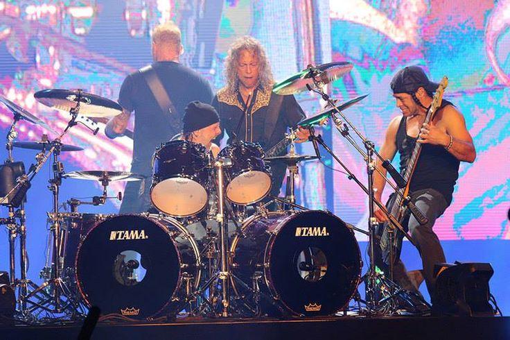 Metallica live.