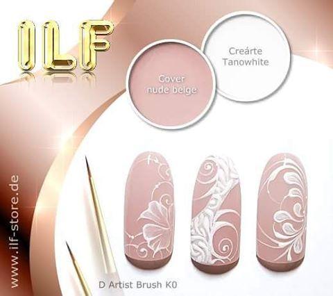 www.ilf-store.de  #ivonne_retz #nails #nailart #gelpainting #naildesign #ilfnails #nailstagram #instanails #gelnails