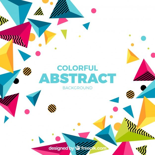 Download Colorful Background In Abstract Style For Free Colorful