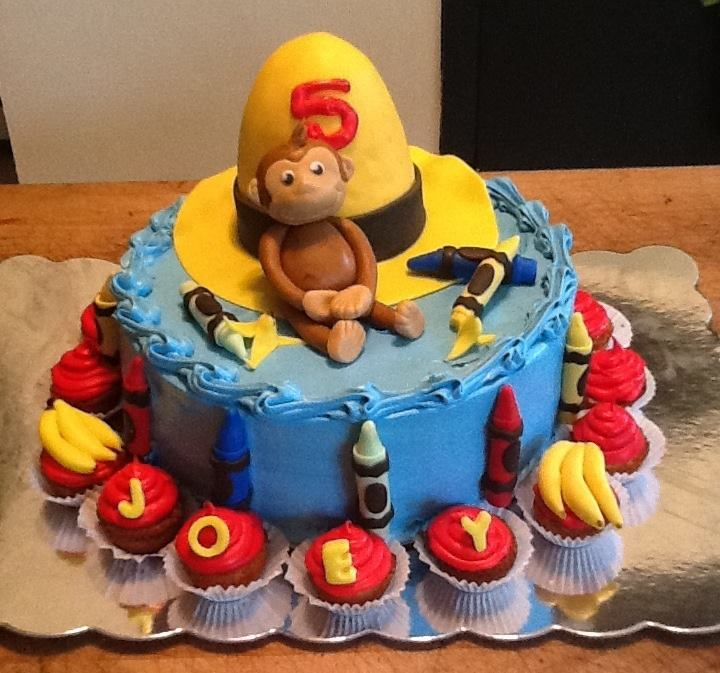 curious george birthday cake 1000 images about cakes curious george on 3236